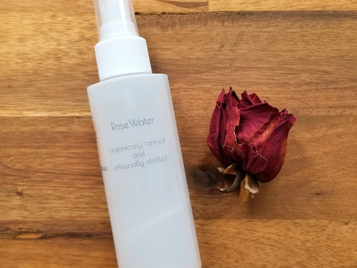 Rose Water in Skin Care