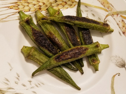 Roasted Okra and Demulcent Foods