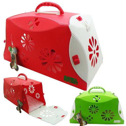 Caja transportadora de mascotas pequeñas