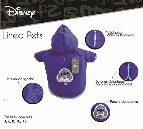 Casaca Stitch Talla 10 - Colección Disney