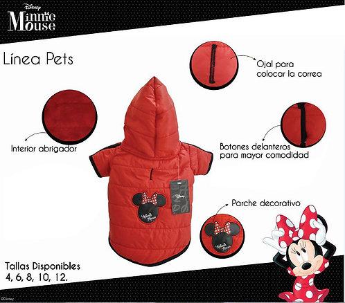 Casaca Minnie Talla 10 - Colección Disney