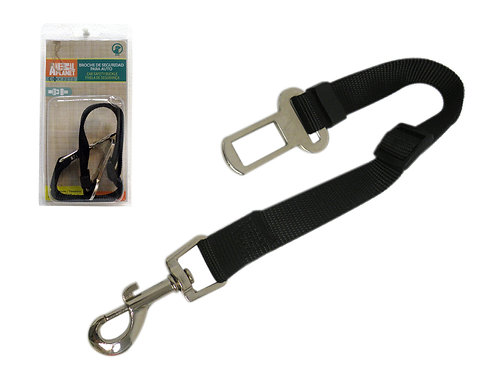 Adaptador para cinturon de seguridad para mascota