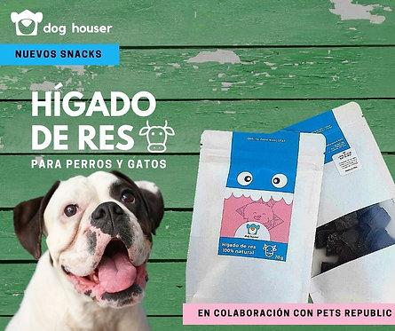 Treat hígado de res Dog Houser