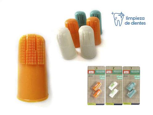 Cepillo de dientes para el dedo