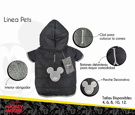 Casaca Mickey Talla 10 - Colección Disney