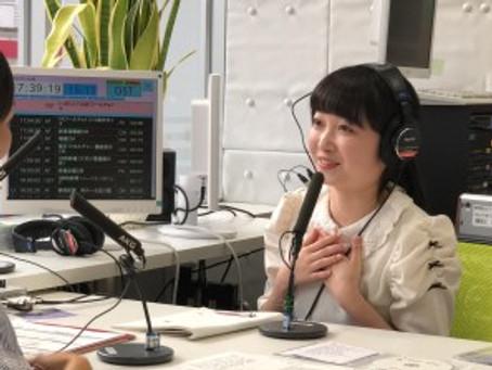 7/16〜7/19 有希乃ラジオ出演報告