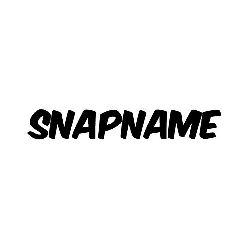 Snapname5