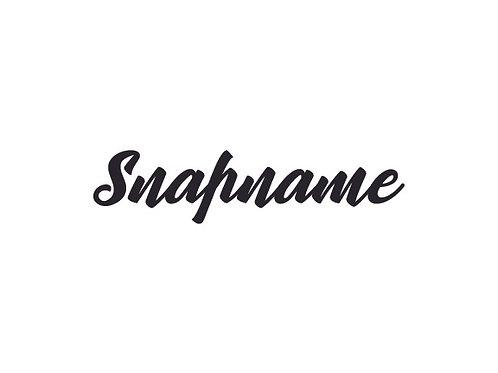Snapname10