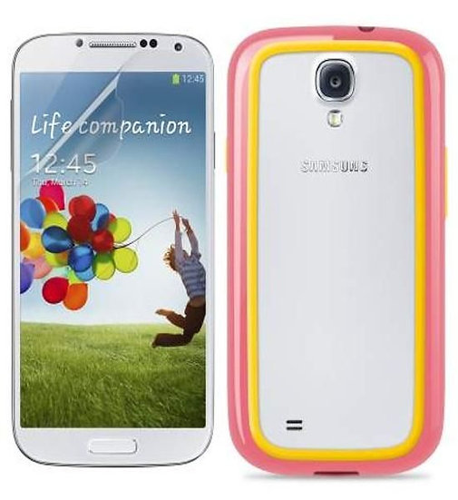 Belkin Surround Case For Samsung Galaxy S4 In Pink And Yellow