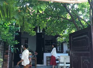 ホイアンのお店と、ベトナム産のヘナ