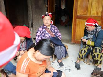ターフィン村での薬草風呂