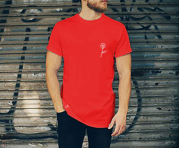 rose line tee shirt rouge.jpg