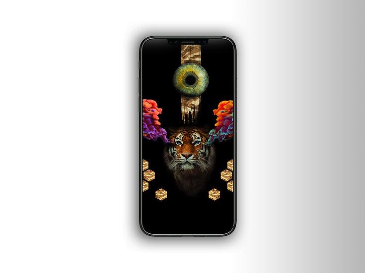 - Vision sauvage - Fond d'écran 1023x1620 pixel