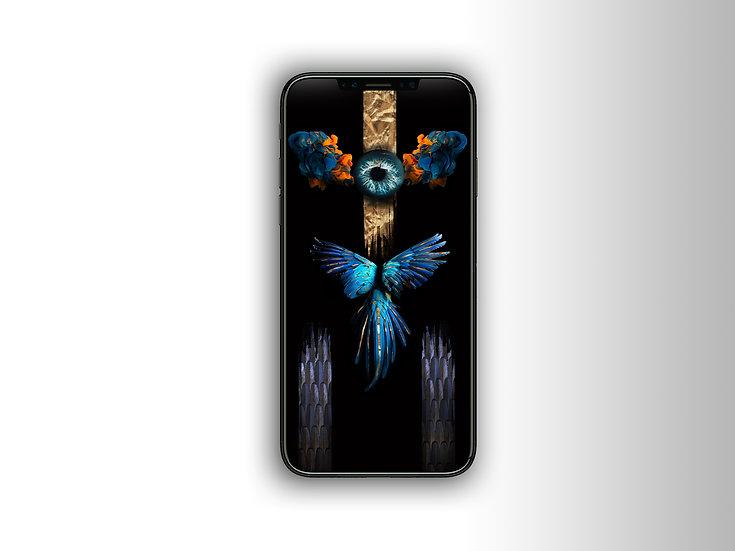 - Effusion Expansive - Fond d'écran 1125x2436 pixel