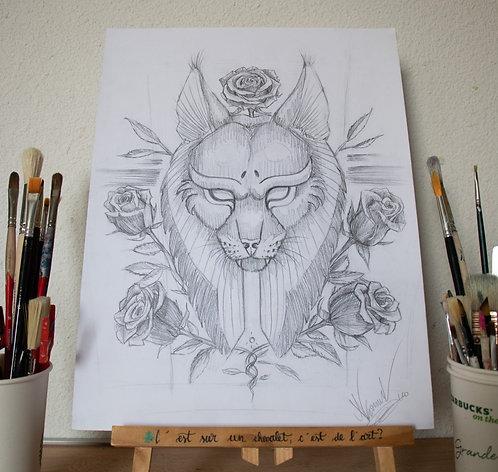 Dessin - Design n°38- 30x40 cm