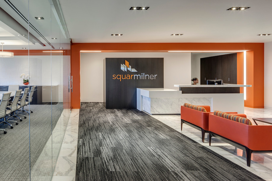 Baker Tilly - Squar Milner Irvine Orange County lobby