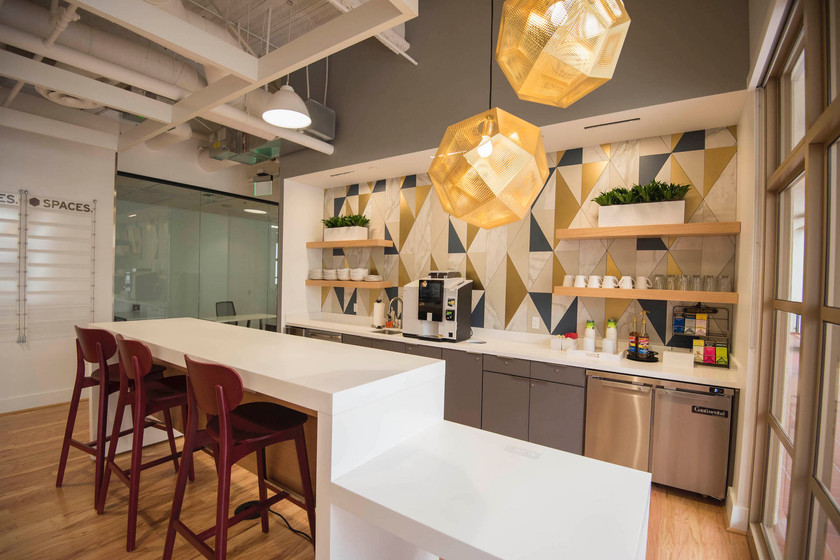 Spaces Calabasas breakroom