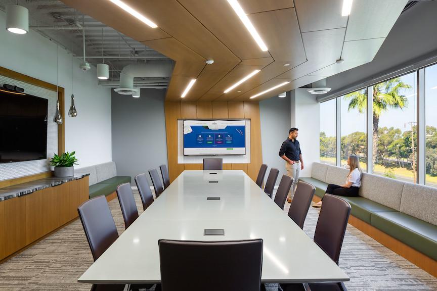 Green Street Newport Beach conference room