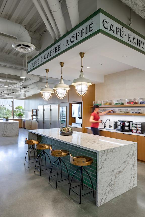 Green Street Newport Beach breakroom