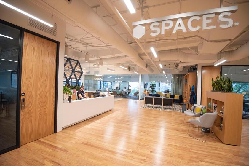 Spaces El Segundo lobby
