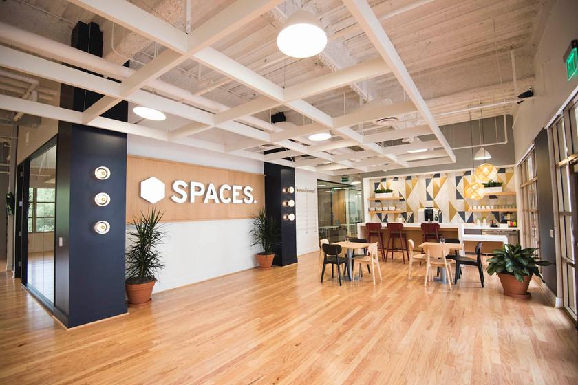 Spaces Calabasas lobby