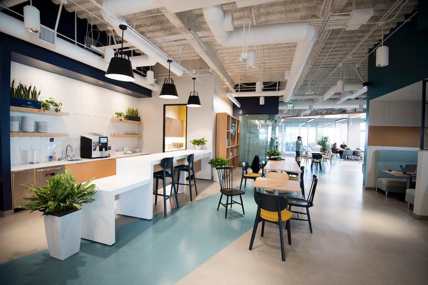 Spaces Intersect breakroom
