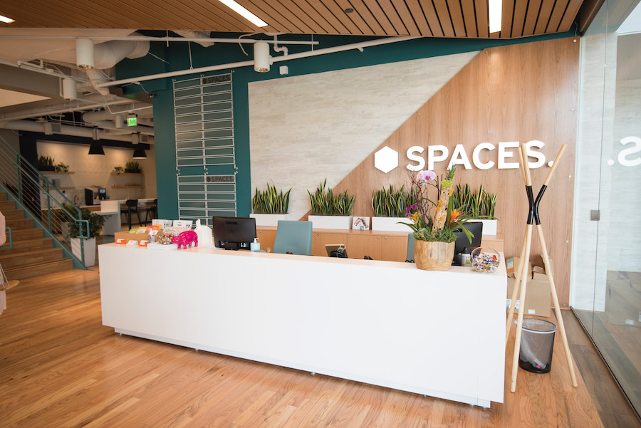 Spaces Intersect lobby