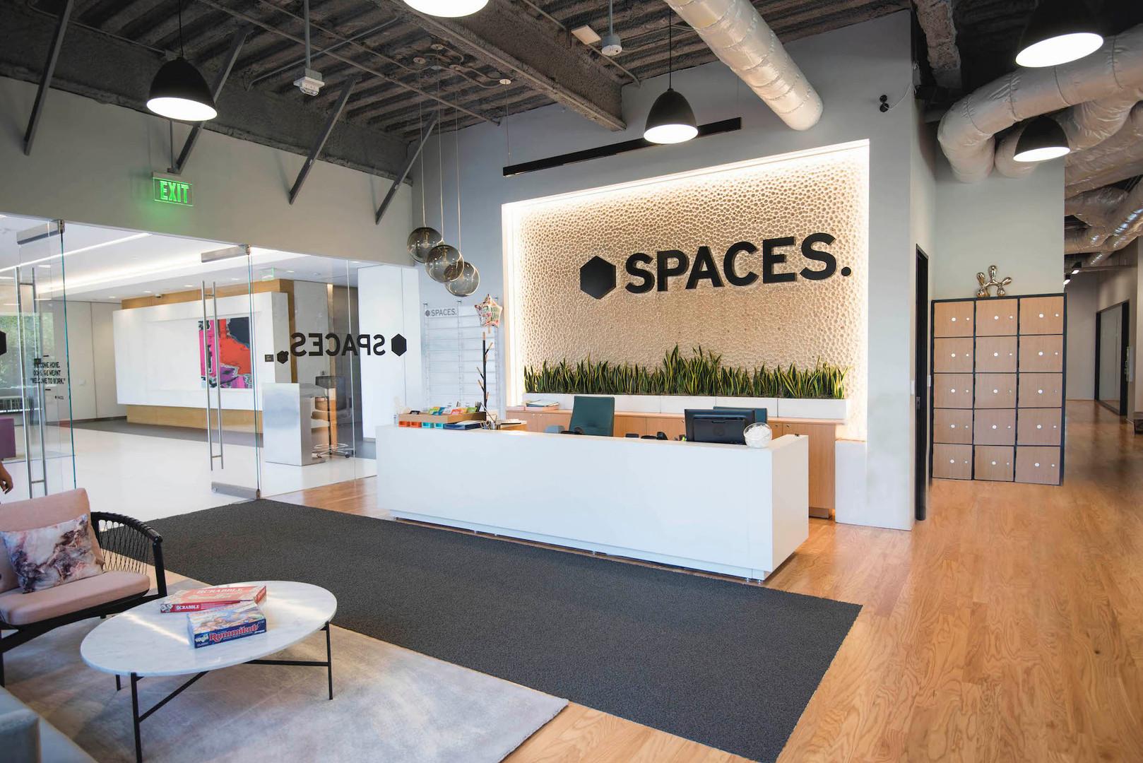 Spaces Costa Mesa lobby