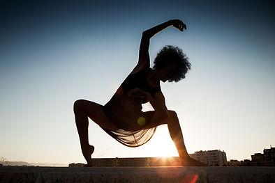 Dancer in Sunset