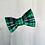 Thumbnail: Green Tartan Treasure bow