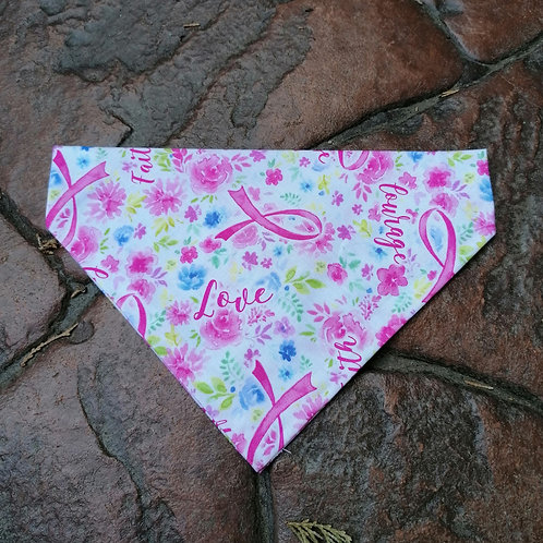 Love, Faith, Hope Pink Floral