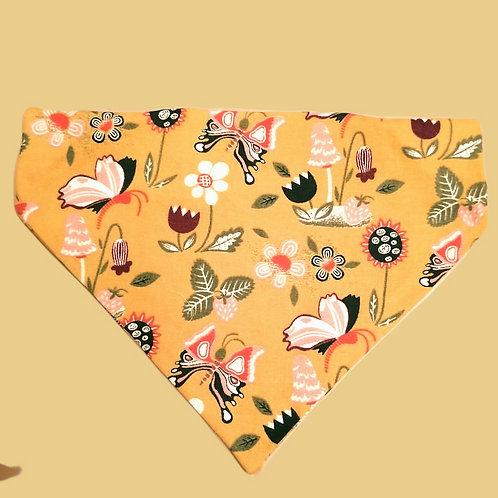 Butterflies and Flowers Bandana