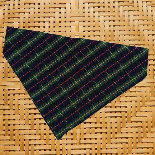 Green Tartan Bandana