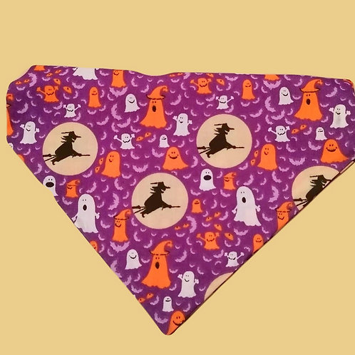 Witches on Broomsticks Bandana