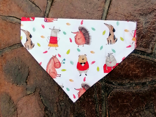Autumn Creatures Bandana
