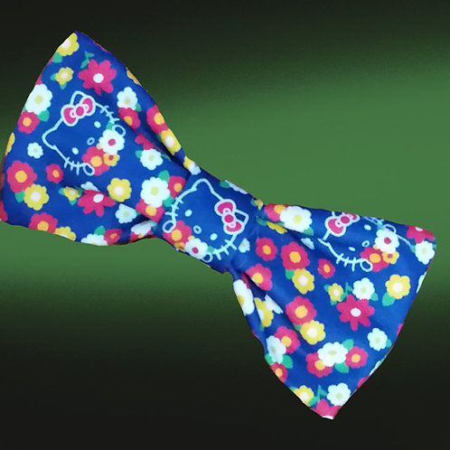 Hello Kitty Floral Bow