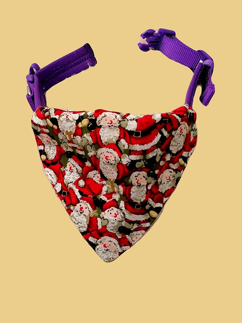 Santa's Galore Dog Bandana