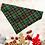 Thumbnail: Green and red tartan bandana