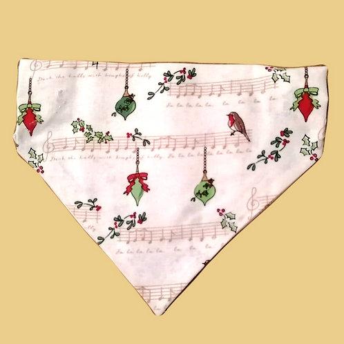 Christmas Music Bandana