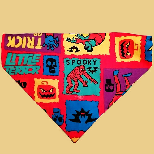 Cartoon Halloween Bandana