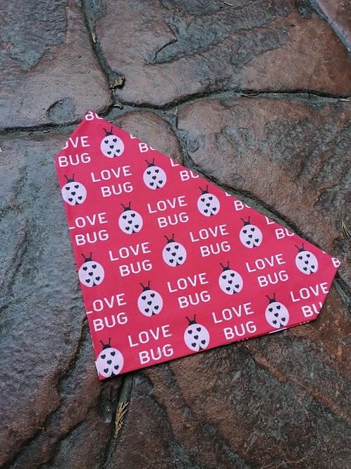Valentine Love Bug Bandana