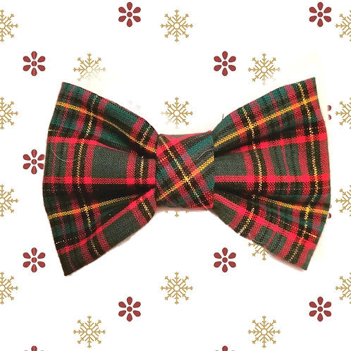 Green and Red Tartan