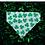 Thumbnail: Irish Shamrock Bandana