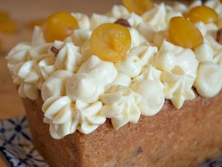 Cake noisettes mirabelles