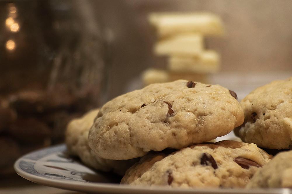 Cookies amandes chocolat blanc
