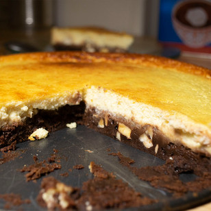 Cheesecake Brownie allégé