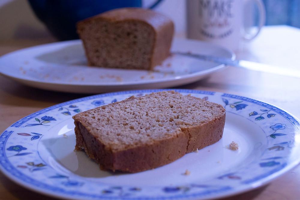 Tranche de pain d'épices maison