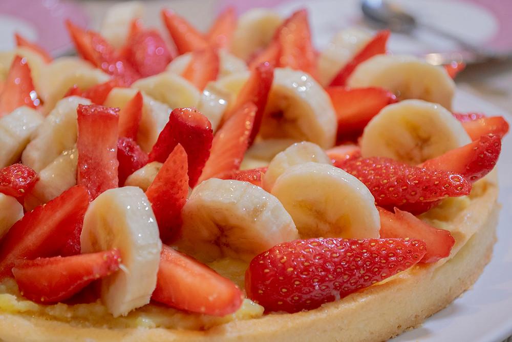 Focus tarte aux fruits frais