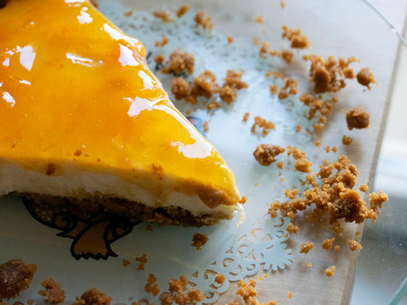 Cheesecake sans Philadelphia sans cuisson sans gélatine