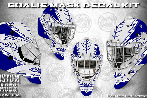 WE THE NORTH #3 -Goalie Mask Vinyl Decal